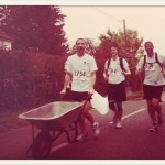 Guy Watts/Streetscape: Running a half marathon with a wheelbarrow to raise money for Streetscape.