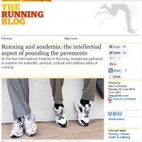 Guardian Running Blog story 1 July 2014.